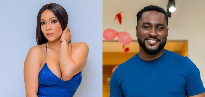"""#BBNaija 2021: """"It never happened"""" - Maria debunks Pere's claims that he fingered her and she stroked his d!xk (Video)"""