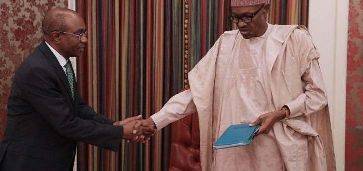 N570 to $1: Buhari under pressure to sack Godwin Emefiele
