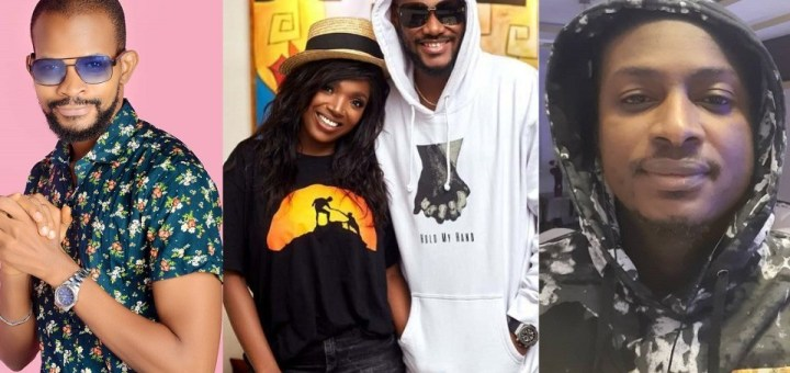 """""""2Baba's unusual silence while his brother and wife exchange words on social media is wrong and worrisome"""" - Actor, Uche Maduagwu"""