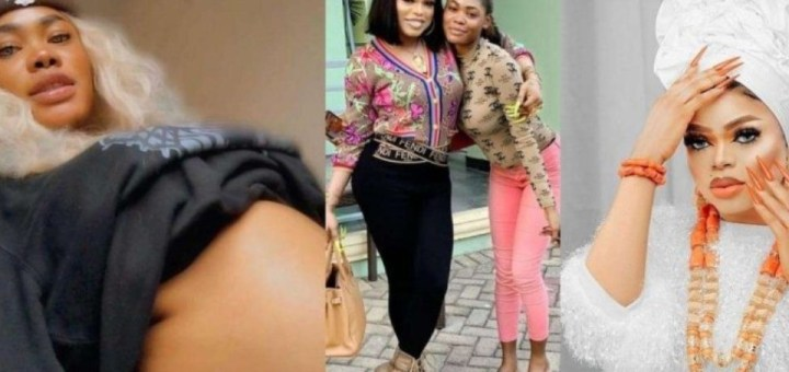 Bobrisky's former PA Oye announces she's pregnant asks Nigerians to guess the father