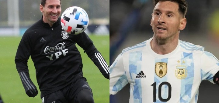 Lionel Messi breaks Pele's record for international goals by a South American player