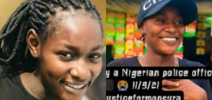 Erring Police officer who shot a young lady on her home has been arrested and would be charged to court - Lagos Police