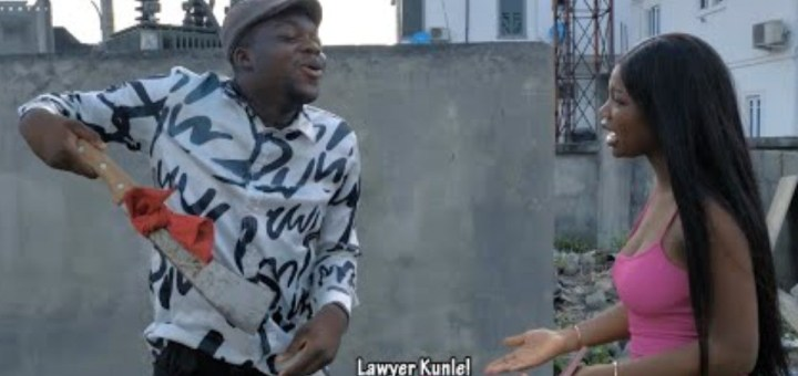 Comedy Video: The Cute Abiola - Lawyer Kunle Five Years Relationship Collapse