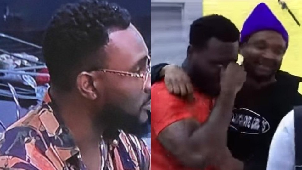 #BBNaija 2021: General Pere gets emotional after avoiding possible eviction' nomination for this week (Video)