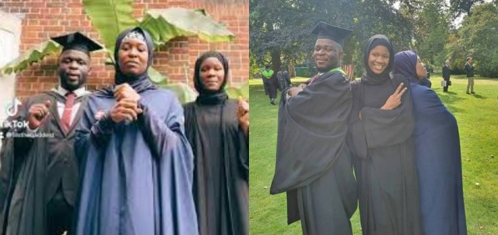 Activist, Aisha Yesufu celebrates as her son defies all medical odds to become a graduate