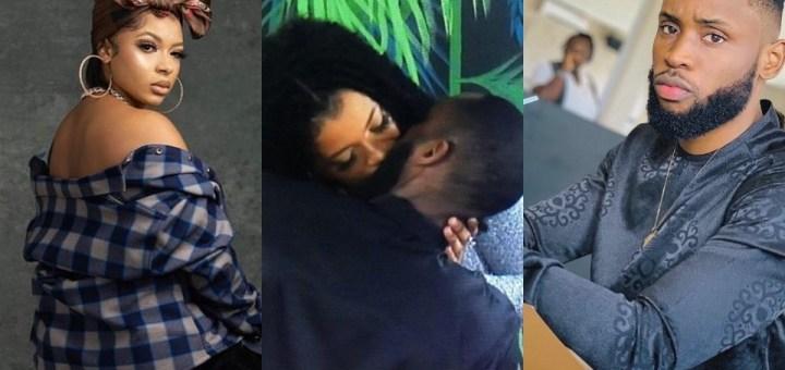 #BBNaija 2021: Liquorose and Emmanuel share romantic evening (Video)