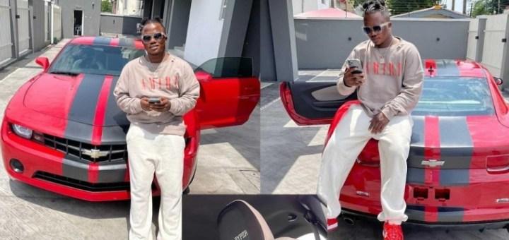 Singer Jamopyper splurges millions of Naira on a customized Chevrolet