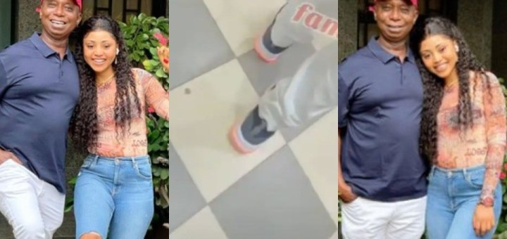 """""""I'm Obsessed With His Legs"""" – Regina Daniels Says As She Drools Over Her Husband Ned Nwoko"""