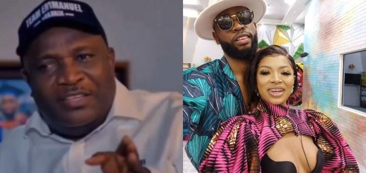 #BBNaija 2021: Emmanuel's dad speaks on his son's relationship with Liquorose (Video)