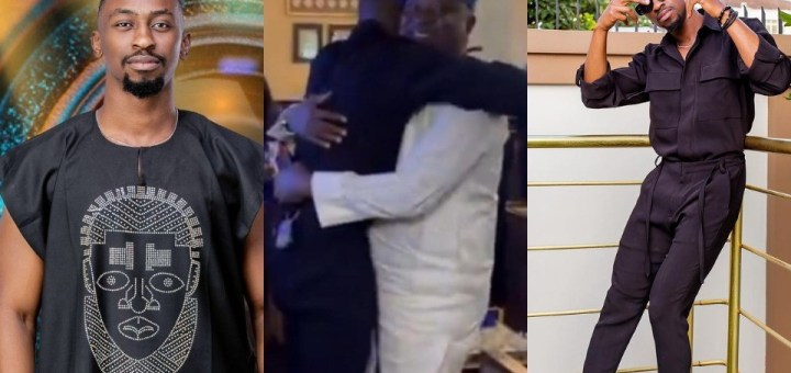 #BBNaija 2021: Saga opens up on 'awkward start' with father after losing his mother