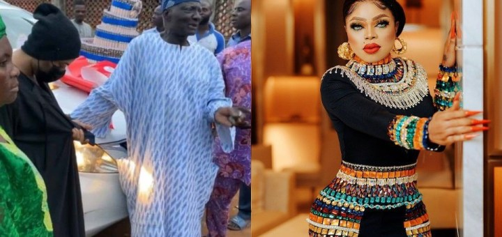 """""""You don't expect me to glam up to surprise my dad"""" - Bobrisky finally speaks on why he dresses like a man to see his dad"""
