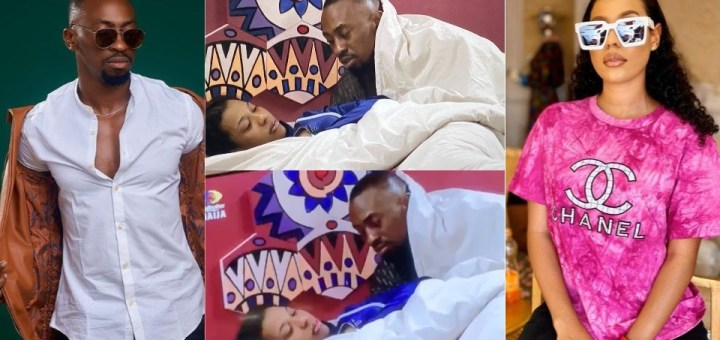 "#BBNaija 2021: ""Saga is a Happy Mumu"" - Reactions as Saga told Nini about Big Brother's Secret Task (Video)"