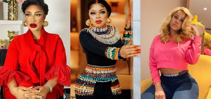 If not for Tonto you would still be a nobody, you will always be a man with your fake bum pads - Daffy Blanco slams MR. Bobrisky after he denied knowing her
