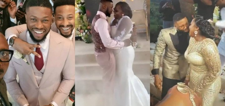 Sweet Love! See Photos and videos from the wedding of actors Stan Nze and Blessing Obasi
