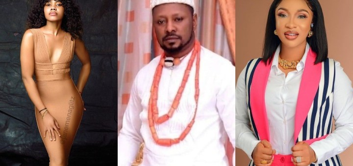 """""""Kpokpogri has so much of your s*x tapes in his possession"""" - Tonto Dikeh tells dancer Jane Mena, as she responds to her ex-lover's lawsuit against her"""