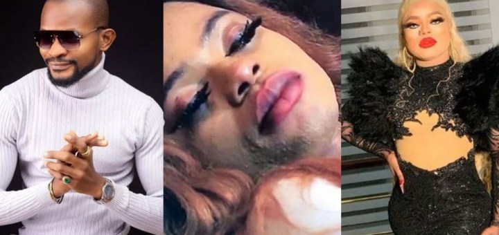 """""""Your masquerade makeup is the most talked about nightmare in Africa"""" – Uche Maduagwu tackles Bobrisky over comment on 'collecting the female gender'"""