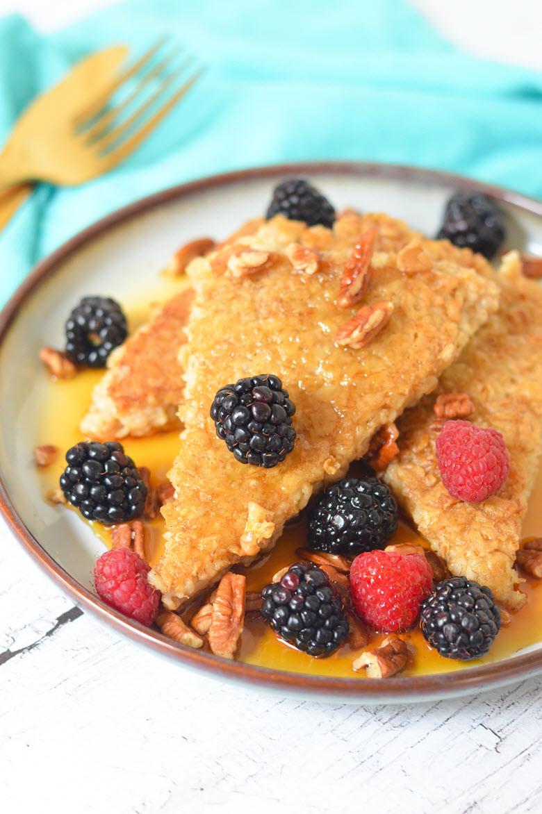Fried Oatmeal Breakfast Recipe