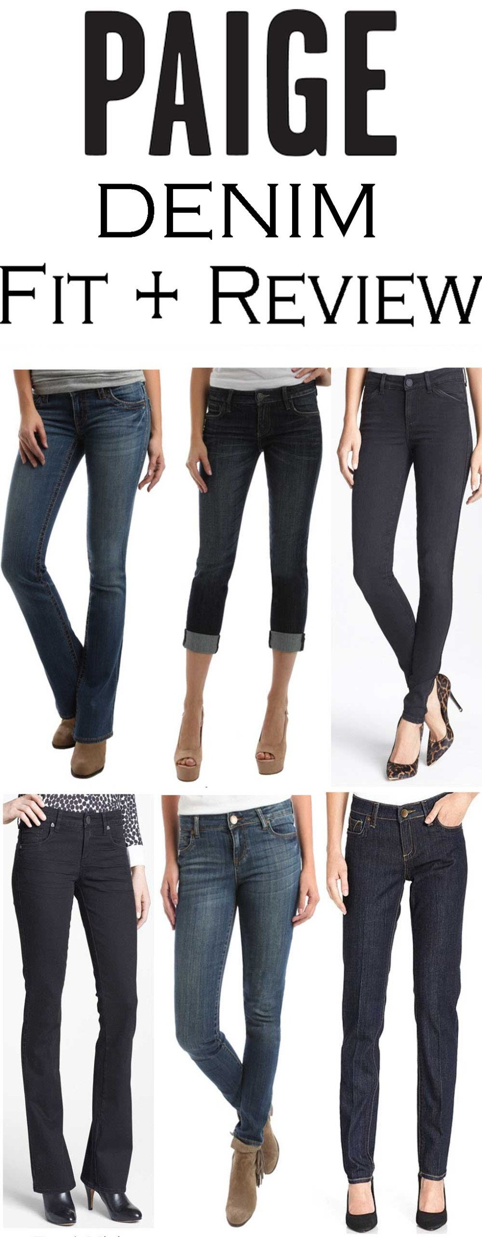 Paige Denim Fit Review + How do Paige Jeans Fit? #denim #fashionblog #fashionblogger #denim #jeansreview #denimreview #paigedenim