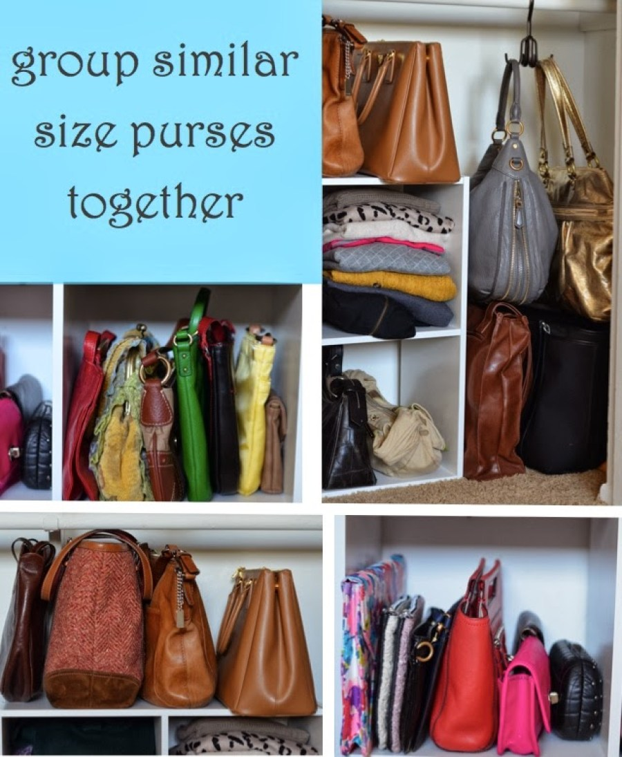 Purse Storage Ideas {Tips to Store Bags + Keep Their Shape ...