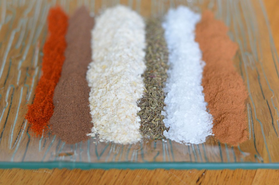 DIY Holiday Gift- Homemade Spice Mixes - Caribbean Jerk Seasoning Recipe