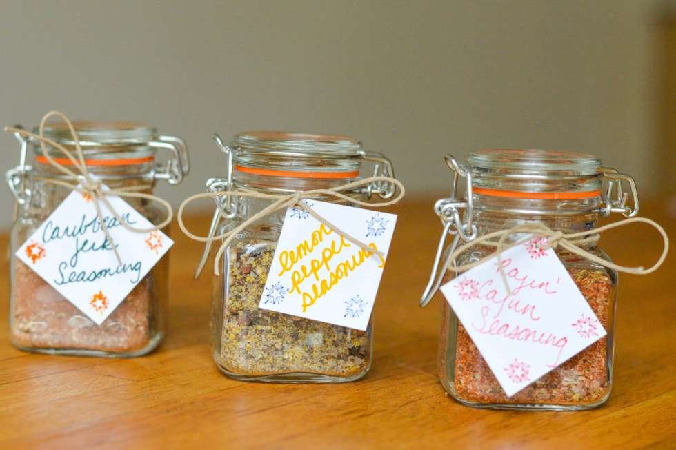 DIY Holiday Gift- Homemade Spice Mixes