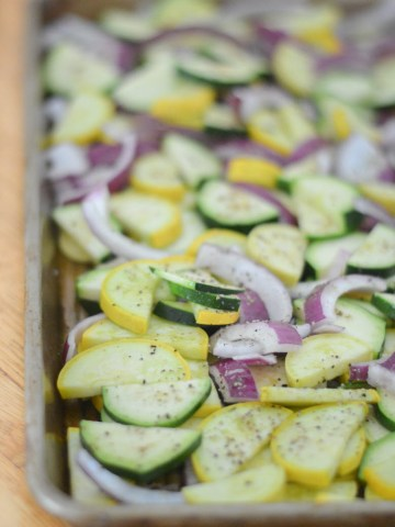 Mardi Gras Recipe - Roasted Squash + Parmesan