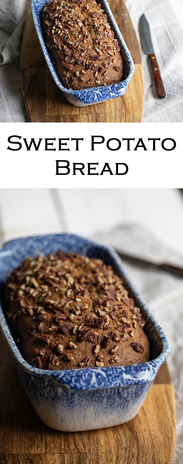 Old Fashioned Sweet Potato Bread Recipe #LMrecipes #sweetpotato #sweetpotatoes #bread #breadrecipes #foodblog #foodblogger #healthy #lowfat #oldfashioned