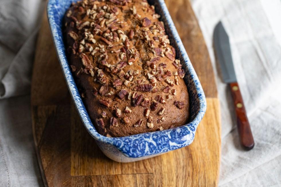 quick bread recipes - sweet potato bread