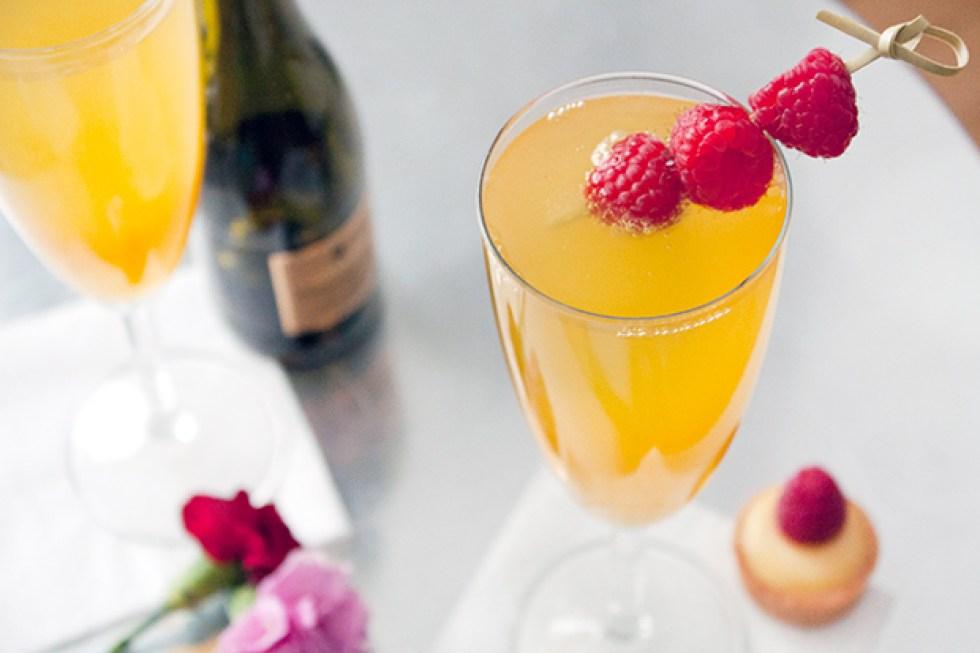 Passion Fruit Elderflower Cocktail