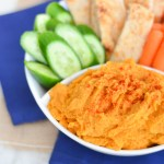 Easy Sweet Potato Hummus without Tahini