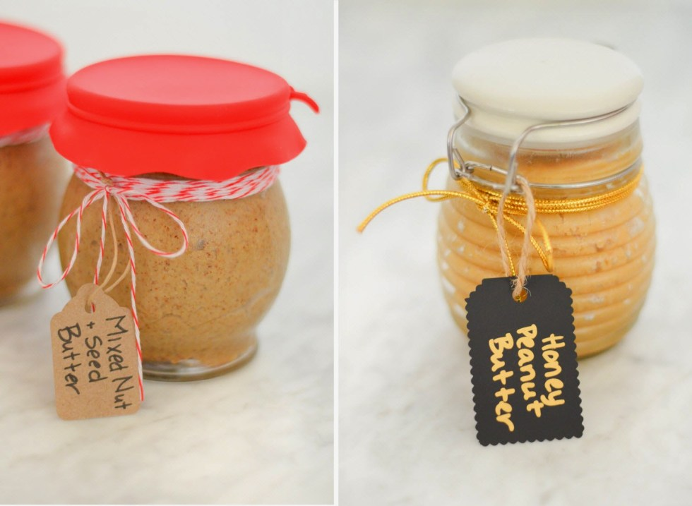 DIY Holiday Gift - Homemade Nut Butter Recipe