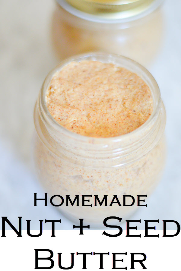 Homemade Sunflower Seed Butter. Easy peanut butter recipe with just peanuts and salt. Organic, unprocessed, unsweetened peanut butter at home. #LMrecipes #peanutbutter #foodblog #homemaking #delicious #recipes #foodblogger #nutbutter #vegan #plantbased