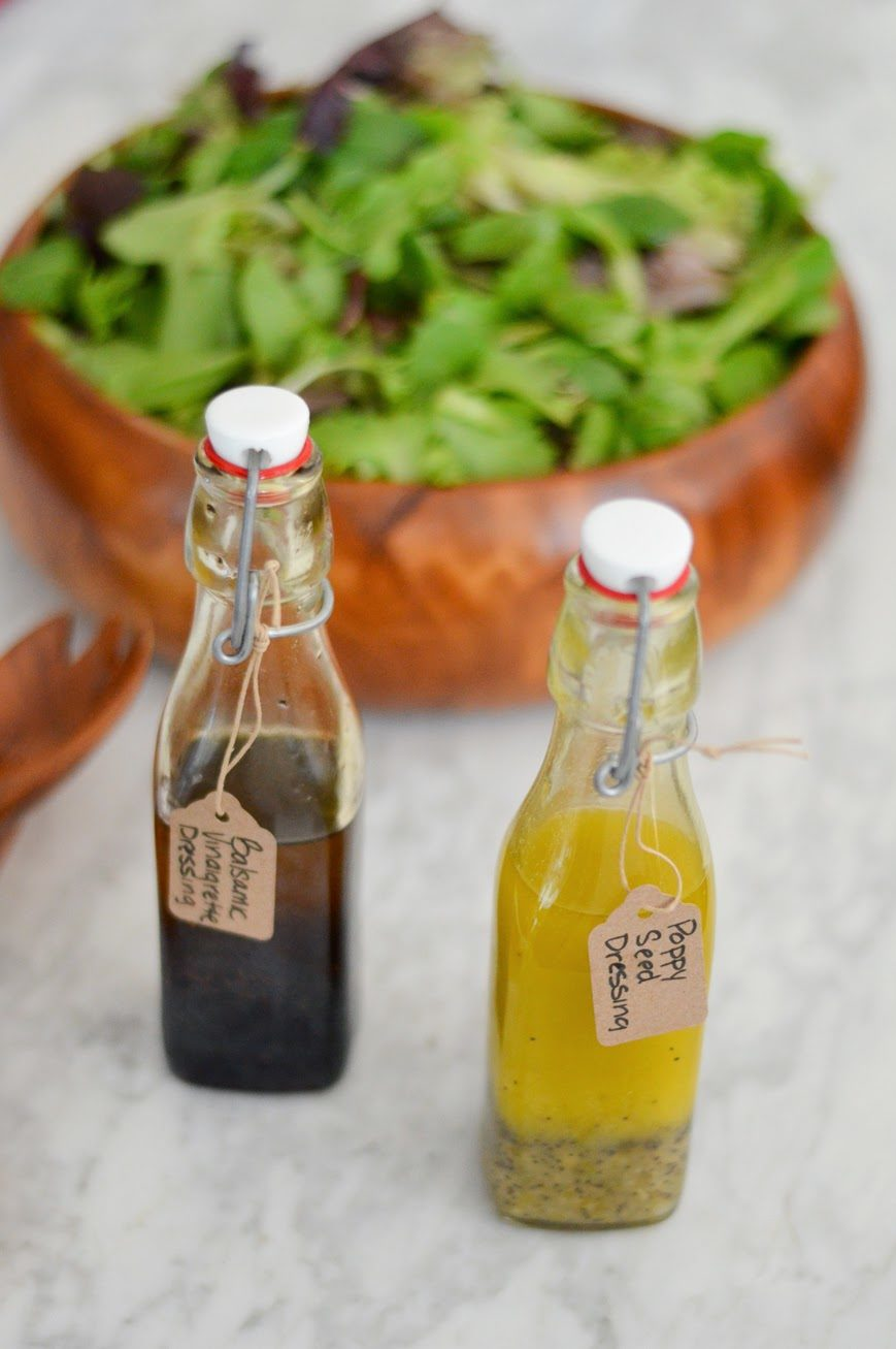 DIY Holiday Gift: Homemade Salad Dressings
