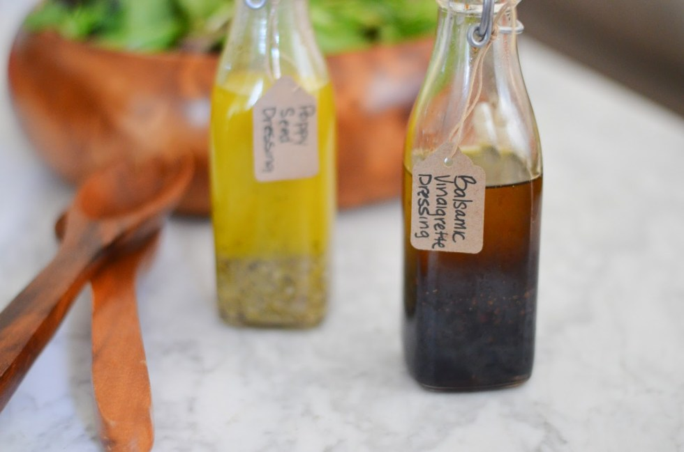 DIY Holiday Gift Homemade Salad Dressing