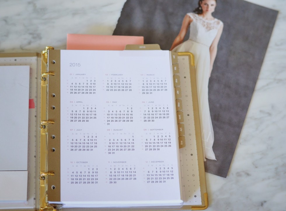 Russell + Hazel Binder System | How to Stay Organized Planning a Wedding