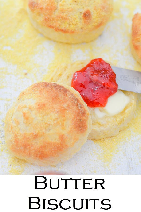 Homemade Butter Biscuits. This fast and easy recipe for delicious cornmeal biscuits is a must in your recipe box. Crunchy biscuits, that come together and cook quickly, this recipe gives flaky biscuits everyone will love.