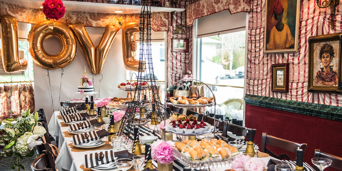 French Themed Bridal Shower In West Hollywood Lucis Morsels