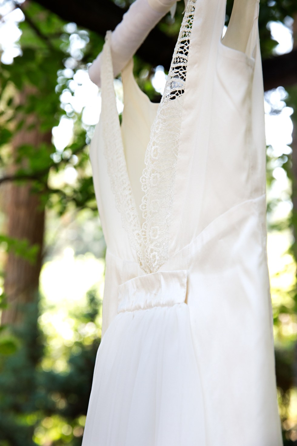 Homemade Wedding Dress Story + Design