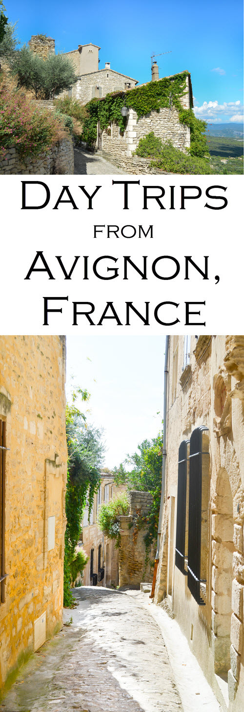 A trip to southern France and Provence must include day trips. These are all easy day trips from Avignon and St. Remy, France. Destinations include wine tasting, Pont du Gard, Isla de la Sorgue, Gordes, and Le Baux de Provence.
