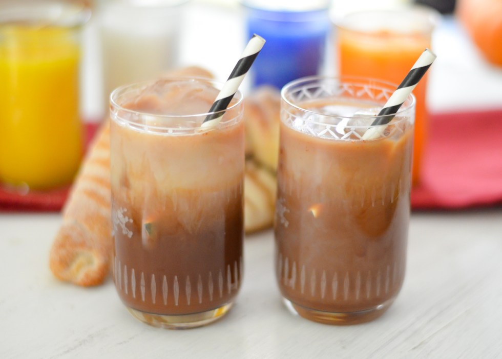 Iced Mexican Coffee Recipe