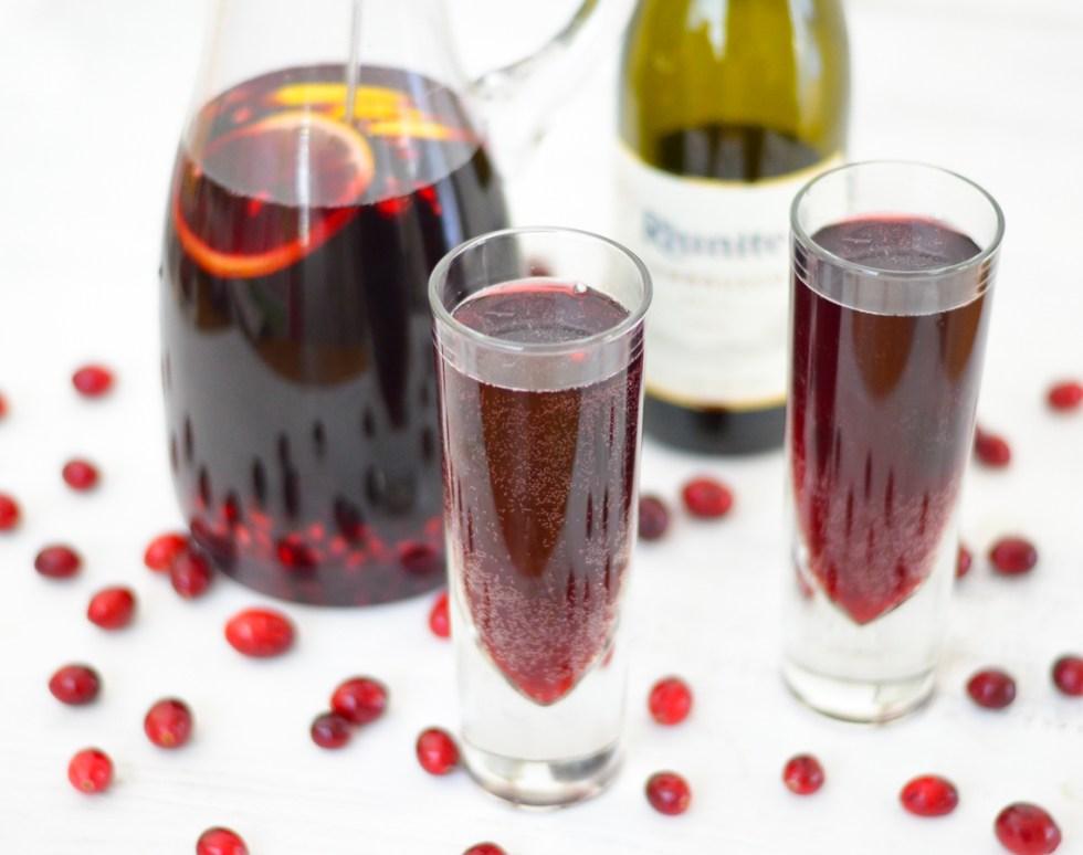Red Christmas Sangria Recipe