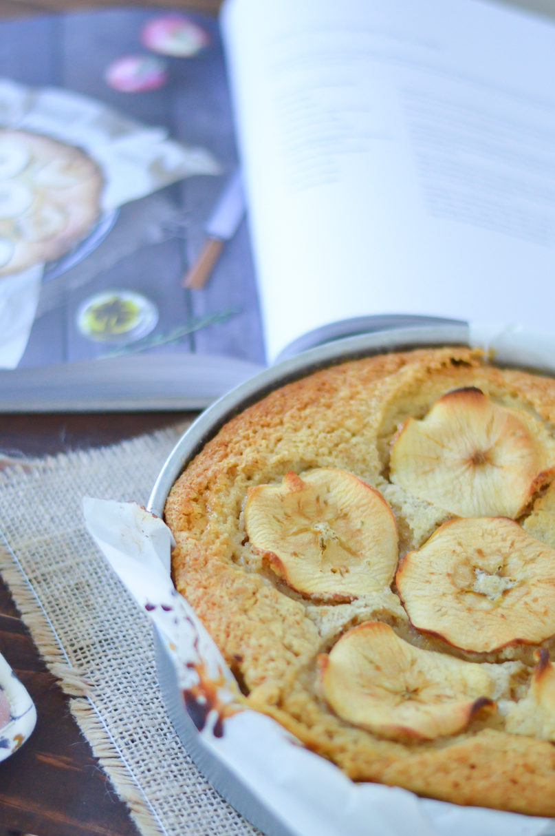 Apple + Olive Oil Cake