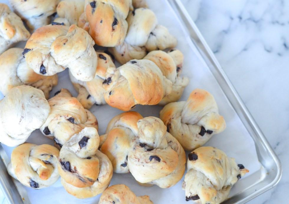 Chocolate Chunk Rolls/Bread Knots