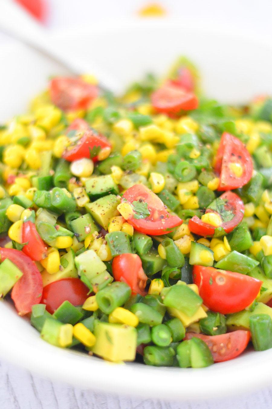 California Succotash Salad