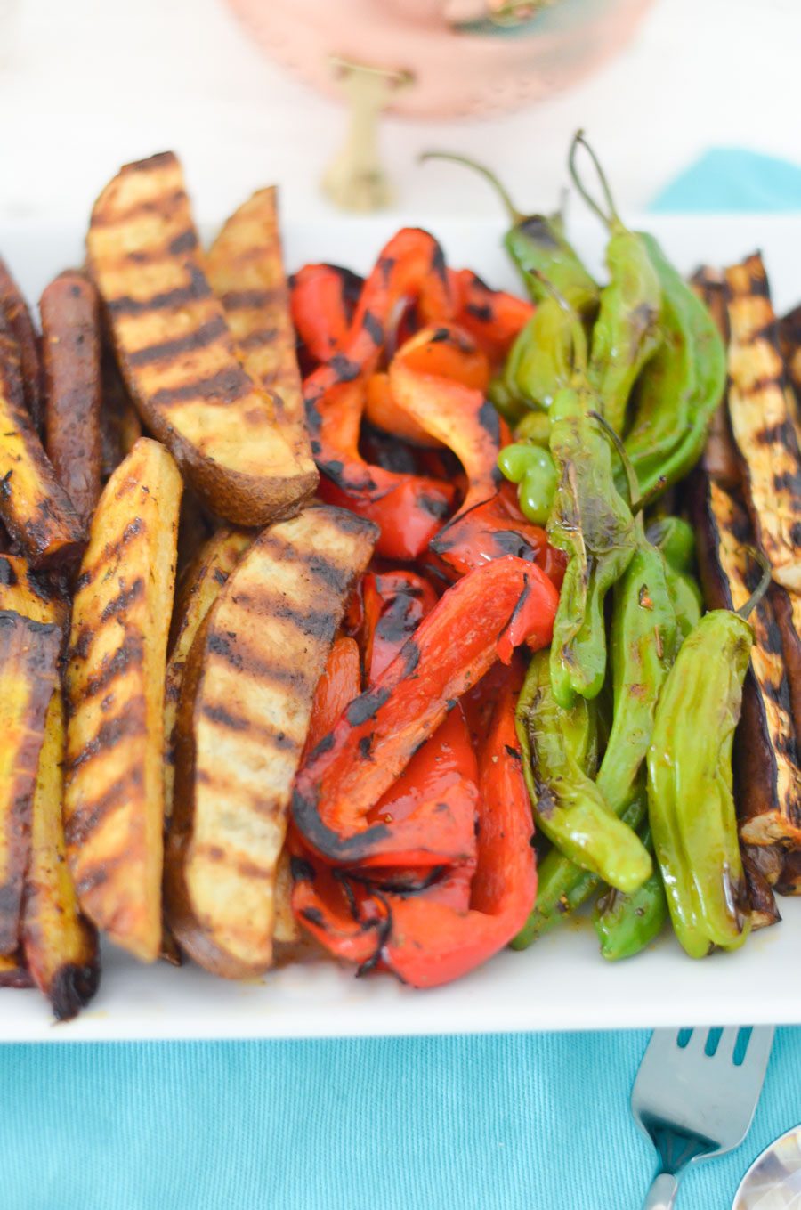 Grilled Vegetable Hors d'oeuvres | Make Ahead Appetizer