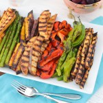 Grilled Vegetable Hors d'oeuvres - How to Grill Veggies - Make Ahead Entertaining Dishes for All Year