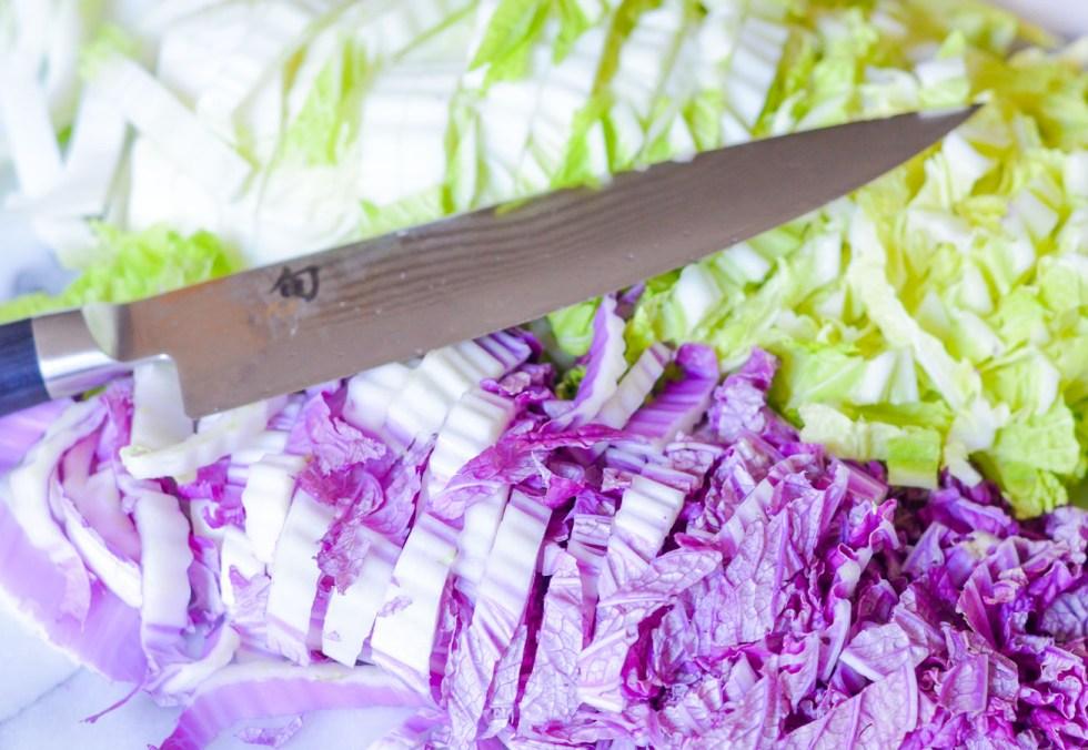 Napa Cabbage, Ground Turkey, Spaghetti | Healthy Weeknight Dinner