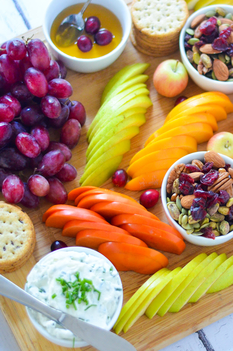Fruit + Cheese Appetizer Board for 8