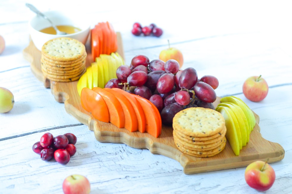 Fresh Fruit Appetizer Board for 4 People