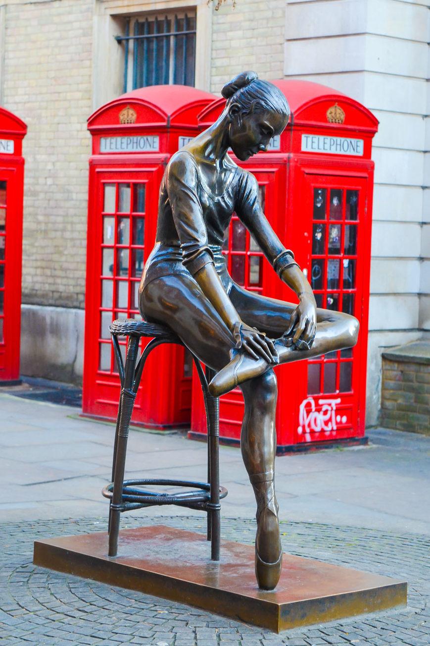 Authentic London Walking Tours in Soho + Covent Garden   Ballerina Statue